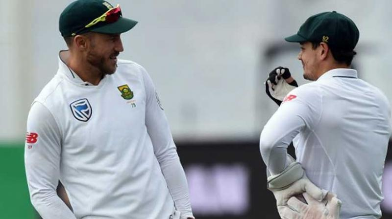 The overhaul of South Africa's coaching structure has given the team a major boost as they get ready to take on England in a four-test series which begins on Thursday, captain Faf du Plessis said. (Photo:AFP)