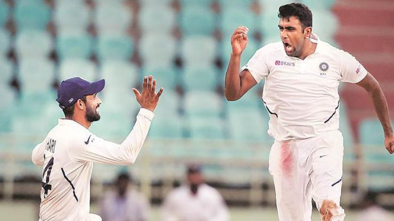Indian spinner Ravichandran Ashwin leads the charts in the list of most international wickets taken in the decade. (Photo:AFP)