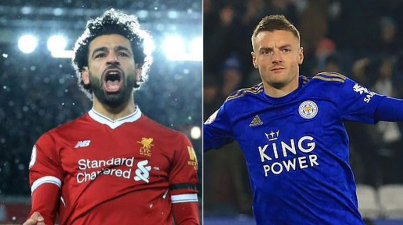 Jamie Vardy's side, Leicester City face Mohamed Salah's six-time Champions Trophy winner and runaway Premier League leaders Liverpool on Boxing Day knowing their own title hopes are very much in the balance. (Photo:AFP)