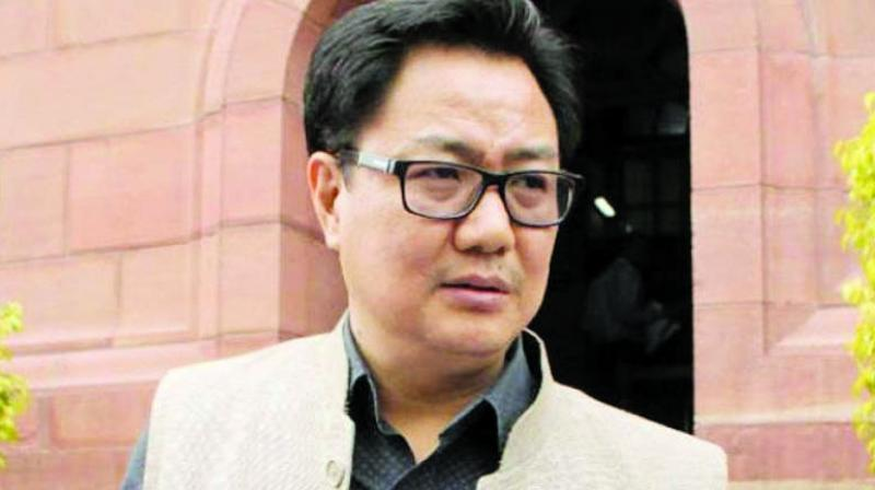 Sports Minister Kiren Rijiju on Thursday lauded Mary Kom's exceptional performance in the World Women's Boxing Championships. (Photo: File)