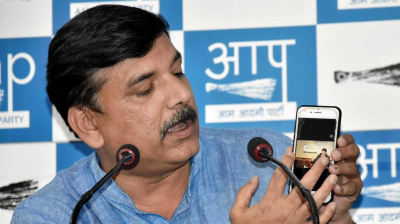 Sanjay Singh (Photo: PTI)