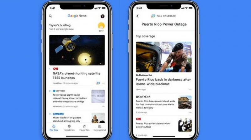 Google at the I/O event has specified that with this Google News app, a user can find quality content from a diverse set of credible publishers and can discover new genuine sources.