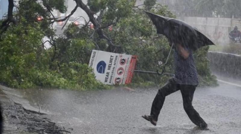 Thunderstorms accompanied by squall, hail and heavy rains are likely to occur in at least 13 states and two Union Territories across the country. (Photo: File)