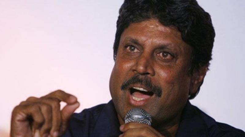 Although Kapil Dev hasn't given a reason as to why he has taken this decision, he has written an email to the Committee of Administrators (CoA), informing them about his decision. (Photo: File)