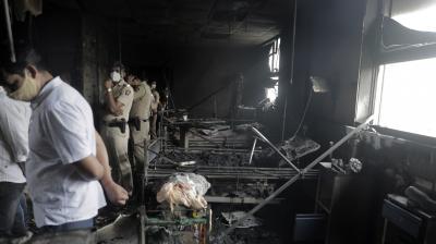 14 Covid patients dead in Maharashtra hospital ICU fire