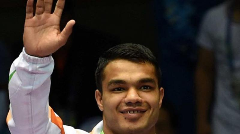 Boxer Vikas Krishan will open India's boxing campaign in the 2020 Tokyo Olympics on Saturday. (Photo: AFP)