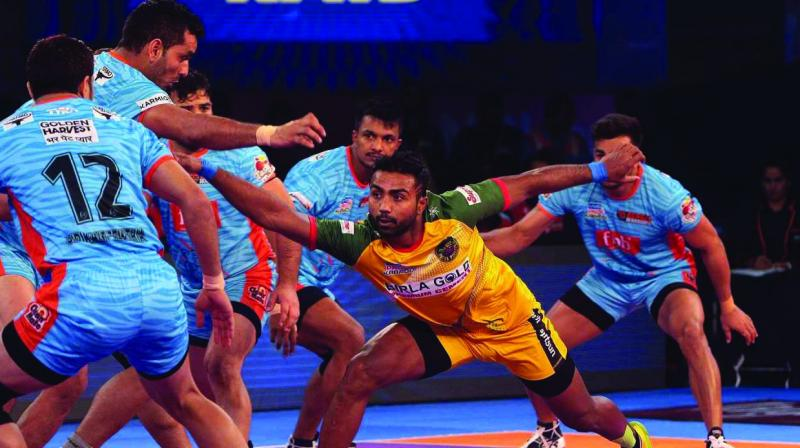 The Pro Kabaddi League is here to substitute the glum, even before it properly sets in.