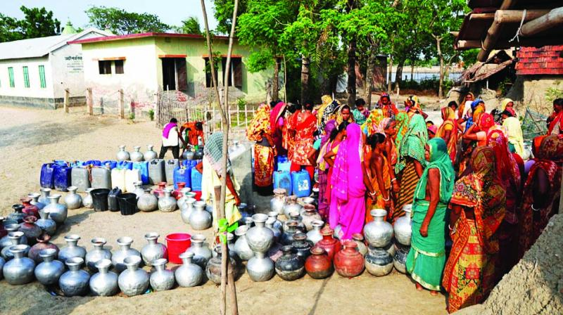 The water mafia is ruling places plagued by crisis.