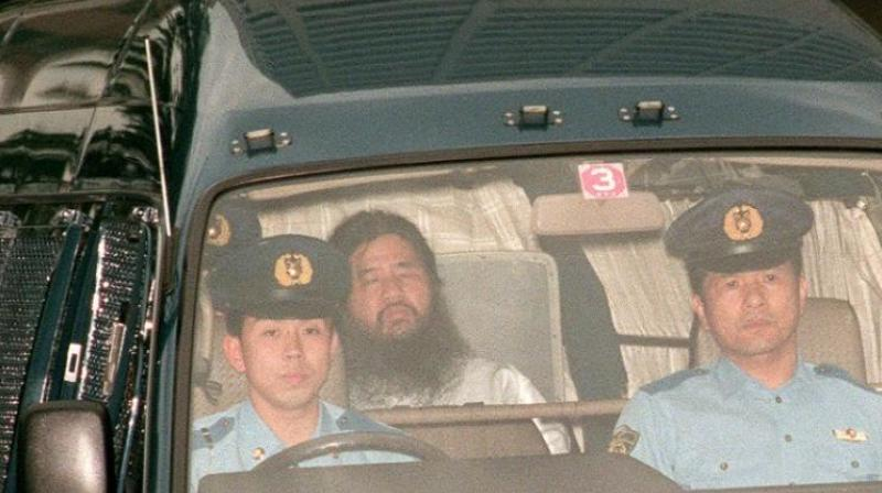 Thursday's executions come after authorities hanged 'guru' Shoko Asahara and six of his one-time followers earlier this month, after years on death row. (Photo: File | AFP)