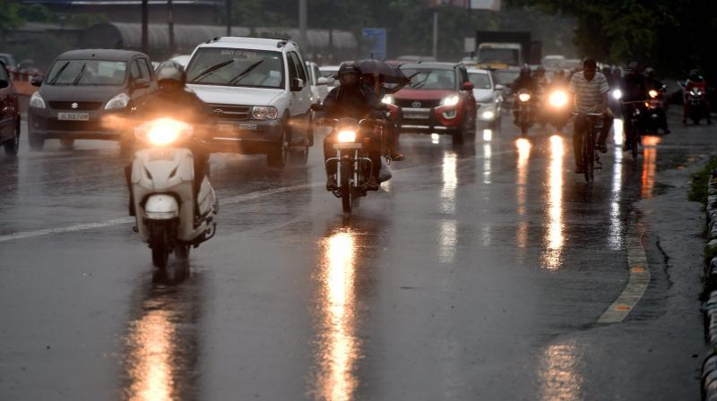 The Meteorological department had warned of moderate to heavy rains throughout the day.  (Photo: PTI/Representational Image)