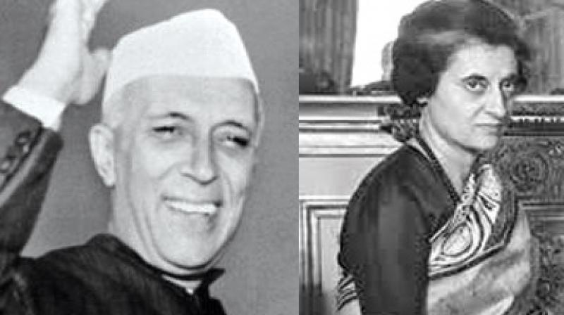 In 1959, when Indira Gandhi became president of the Congress Party, Prime Minister Jawaharlal Nehru had to face criticism for promoting his daughter.