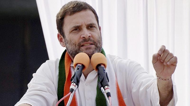 Congress Vice-President Rahul Gandhi. (File photo)