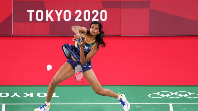 PV Sindhu.  (Photo: Official Olympic website)