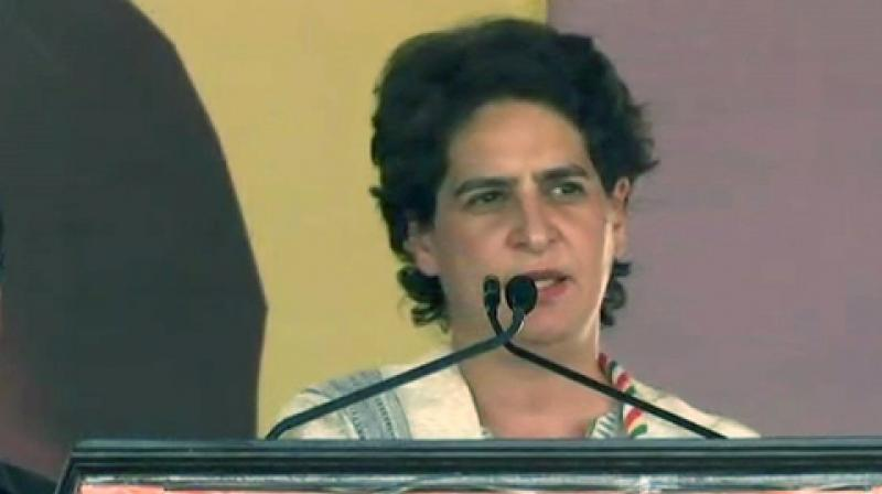 'Victim's father is killed. Victim's uncle is arrested. Following massive public pressure and after 13 months, accused MLA arrested. Attempt to kill the victim's family. Shahjahanpur rape case: Victim arrested. Victim's family being pressured,' Priyanka Gandhi said in a tweet. (Photo: File | ANI)