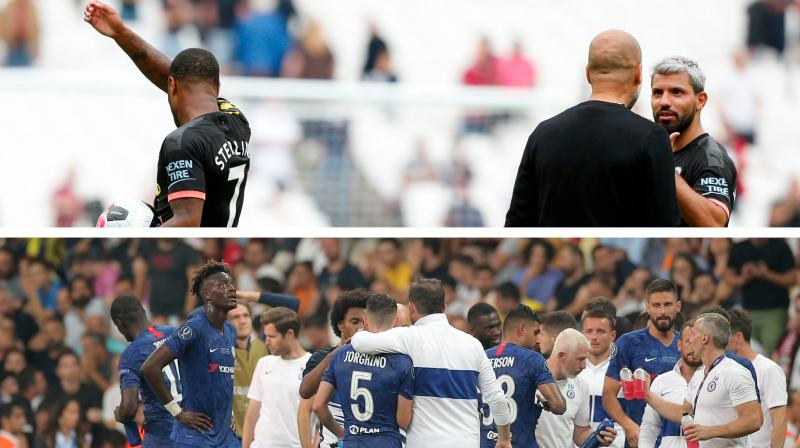 Chelsea were the only member of the 'big six' to get off to a losing start as the Blues were humbled 4-0 by Manchester United in Frank Lampard's first game in charge. (Photo: AFP/AP)