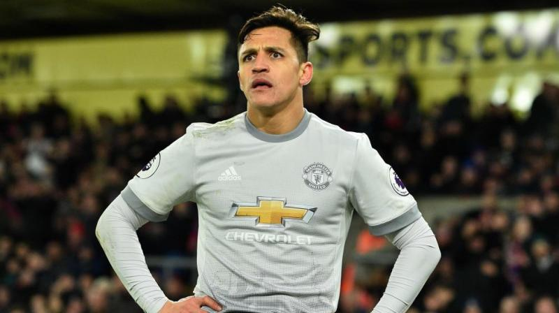 Manchester United manager Ole Gunnar Solskjaer has said that Alexis Sanchez is not in the club's reserves while adding the Chilean footballer might play a lot of games. (Photo: AFP)