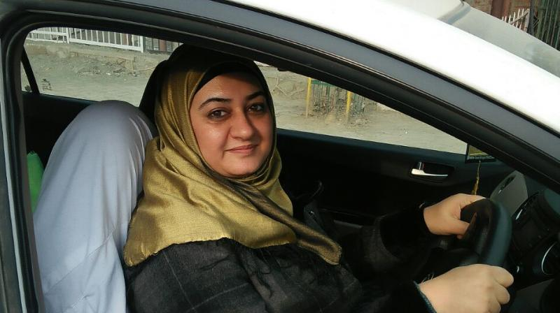 Dr Sharmeen said that she has been driving for over two decades and just getting behind the wheel thrills her. (Photo: DC)