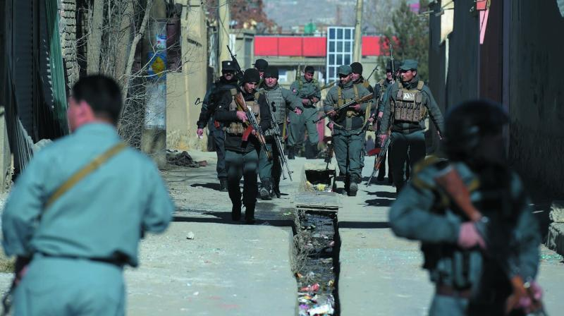 SIGAR said just 53.8 per cent of Afghanistan's 407 districts are in government hands, and experts on Afghanistan say the number is lower still. (Photo: AFP)
