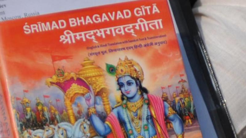 Through the message of the Bhagavad Gita, we receive advice and direction at all times — for all times. (Photo: AFP)