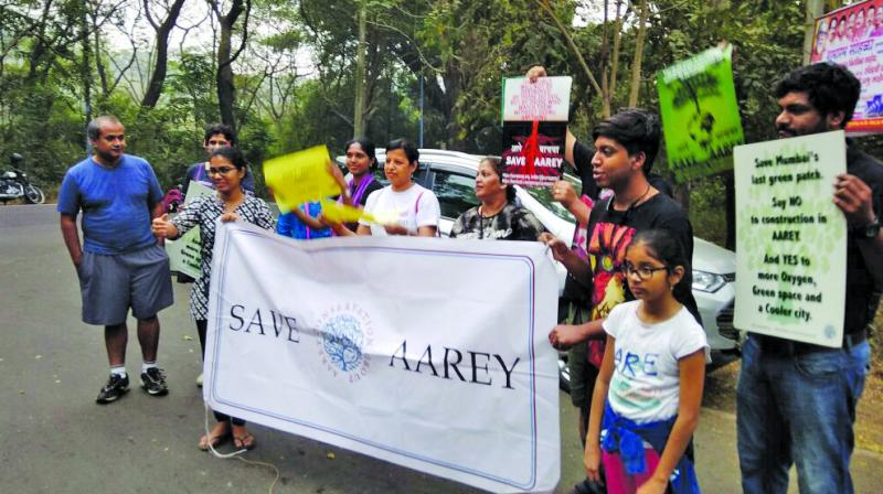 Aarey, the last green lung of Mumbai, which is also home to 27 hamlets, is being gobbled up by developers under the garb of various projects including the metro car shed and biological zoo, the tribals said, while the community is being shifted to 480 square feet houses in other areas.