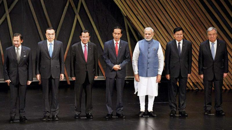The Asean bloc was founded by five countries in 1967 — Indonesia, Malaysia, the Philippines, Singapore and Thailand. (Photo: PTI)