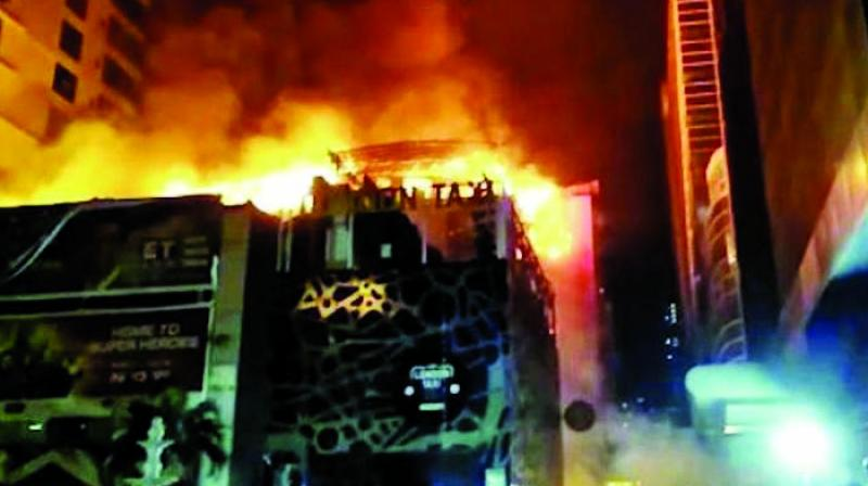 December 29 Kamala Mills fire had killed 14 persons.