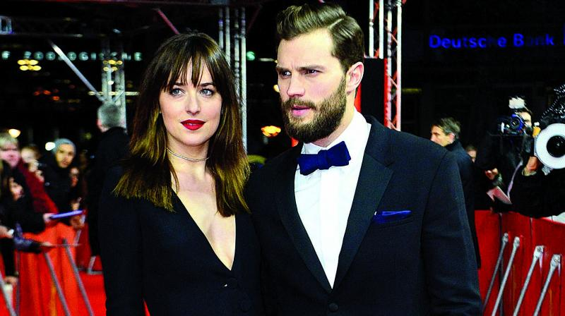 """Jamie Dornan thinks he is getting """"too old"""" to play Christian Grey in the Fifty Shades series."""