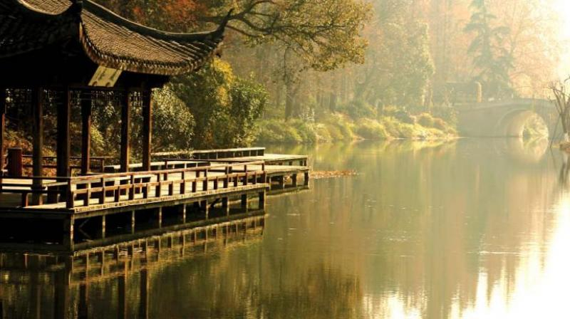 Hangzhou is a two-and-a-half hour flight from Hong-Kong, known as China's most enduringly popular holiday spots.