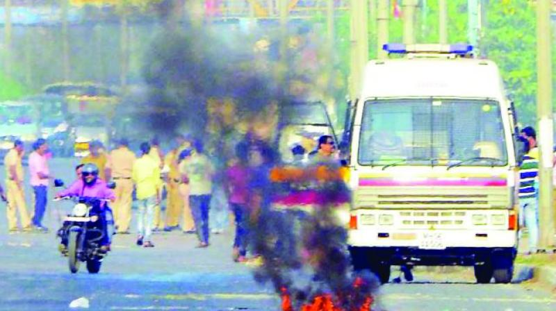 Dalits groups had protested against the violence in Bhima-Koregaon on January 1.