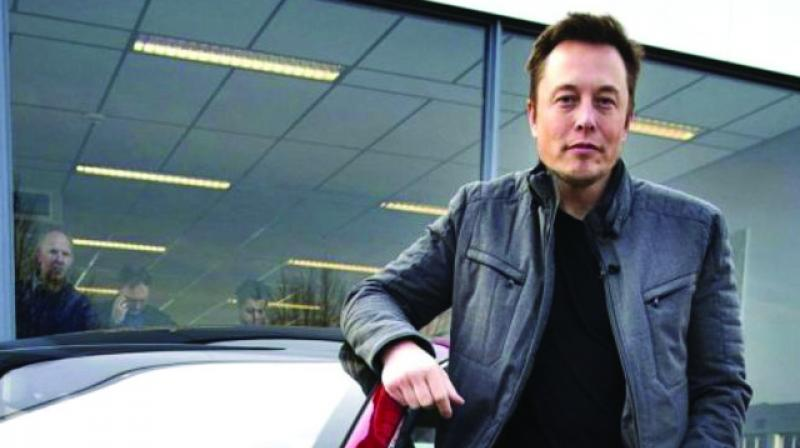 Elon Musk called his father Errol a 'terrible human being' in 2017. (Photo: File)