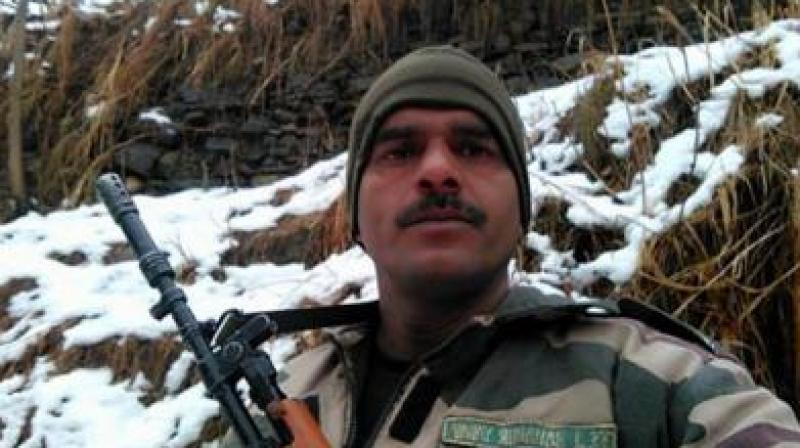 BSF constable Tej Bahadur Yadav. (Photo: Facebook)