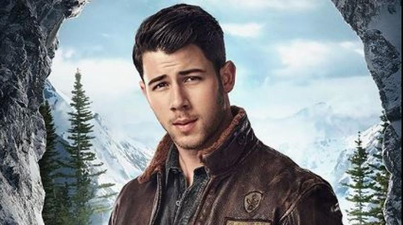 Nick Jonas in a still from the poster.