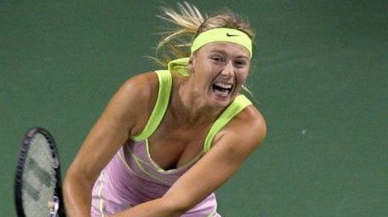 Five-time Grand Slam winner Maria Sharapova was Wednesday handed an Australian Open wildcard as she attempts to resurrect her career after an injury-plagued 2019. (Photo:Twitter)