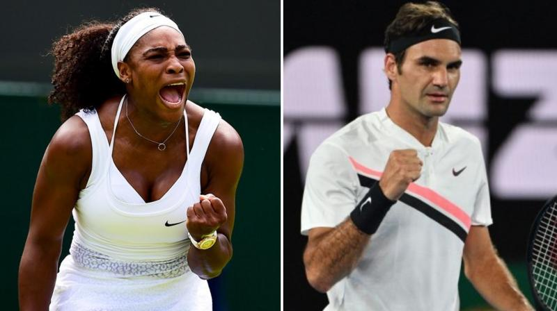 Superstars Roger Federer, Serena Williams and Rafael Nadal will headline an exhibition match ahead of the Australian Open to raise money for bushfire relief, organisers said on Wednesday. (Photo:AFP/Twitter)
