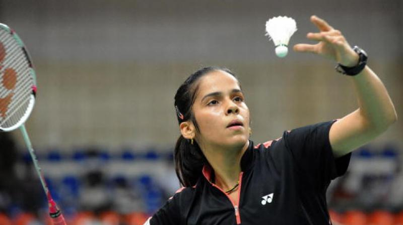Star shuttler Saina Nehwal sailed into the second round with a convincing win over Belgium's Lianne Tan but World championships bronze-medallist B Sai Praneeth and the seasoned Kidambi Srikanth crashed out of the the Malaysia Masters badminton tournament here on Wednesday. (Photo:Twitter)