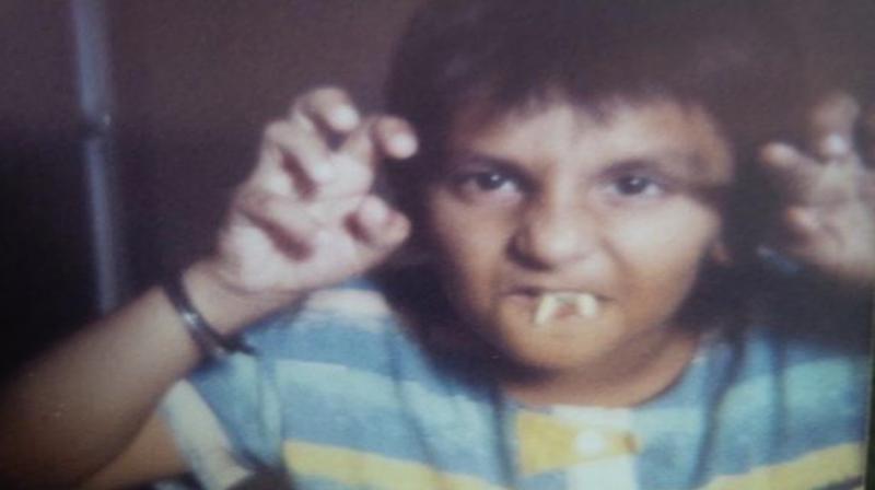 Ranveer Singh's childhood picture. (Photo: Instagram)