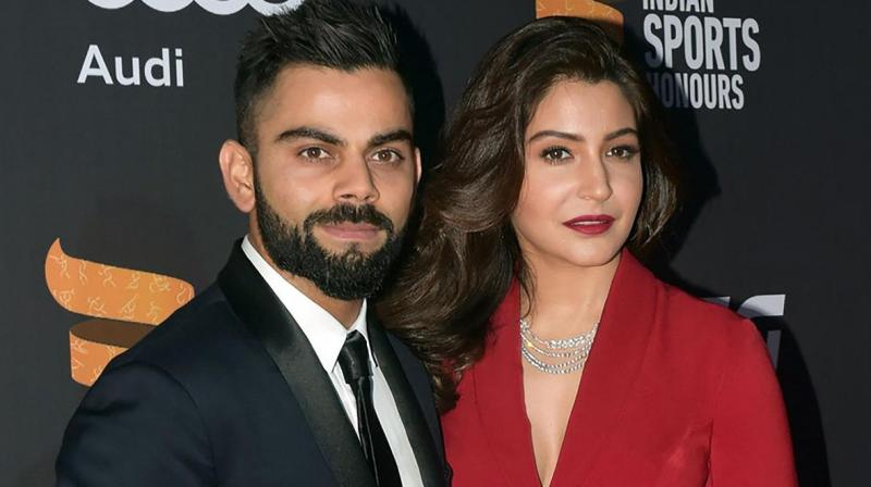 Bollywood actor Anushka Sharma was spotted in London with husband and Indian captain Virat Kohli, earlier this week, the NH10- star headed to England while Team India is on a short break before the World Cup match against Afghanistan. (Photo:AFP)