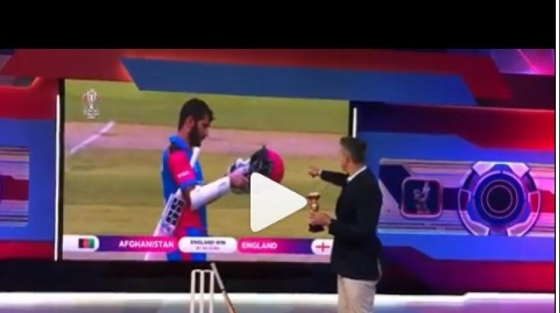 However, the Indian fans begged to differ with him as they believed that the Virat Kohli-led team are strong contenders as well and they gave a strong reply to the outspoken cricketer. (Photo: Screengrab)