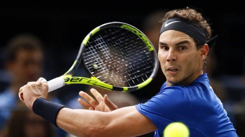 Nadal, 31, has had a stellar 2017, claiming a 10th French Open, a third US Open crown and the year-ending world number one spot. (Photo: AFP)