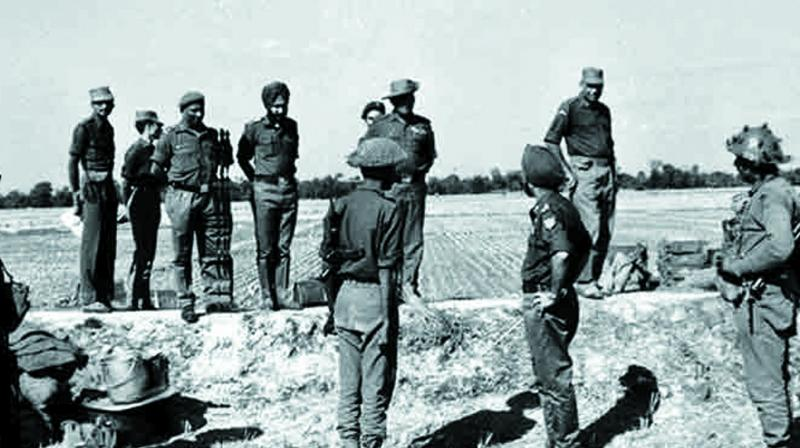 The third India-Pakistan war in December 1971 was a landmark conflict not only in the history of South Asia but also in global military history