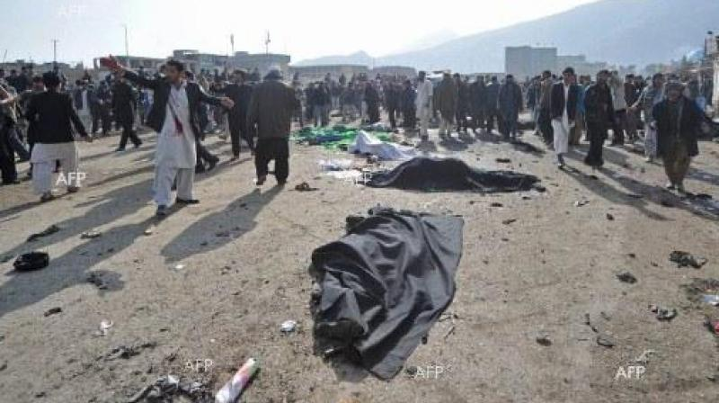 The bomb exploded at the entrance to a giant tent, near residential buildings in the west of Kabul, after most of the clerics had left, a witness said. (Photo: AFP)