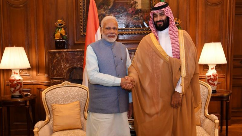 Defence, trade and energy security are expected to be high on the agenda when Mohammed bin Salman holds talks with Prime Minister Narendra Modi. (File Photo)