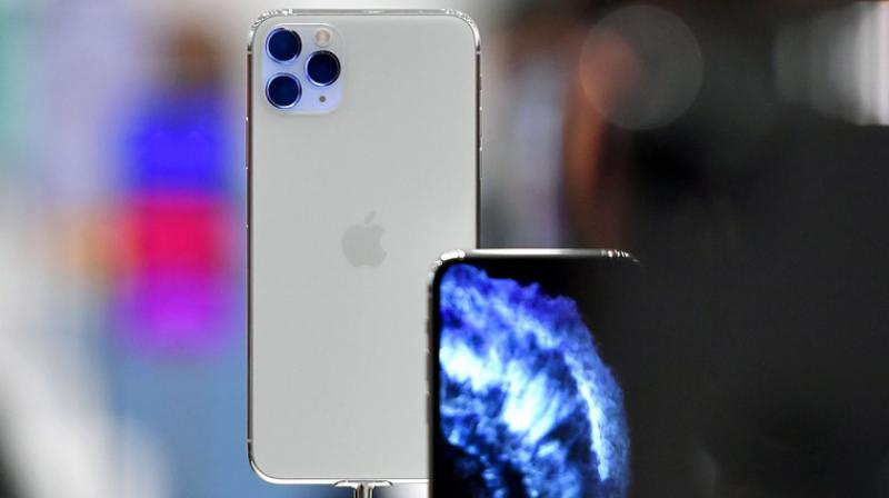 iPhones are here to stay, even though this year's iPhone 13 is rumoured to come with a smaller notch than previous models. (AFP Photo)