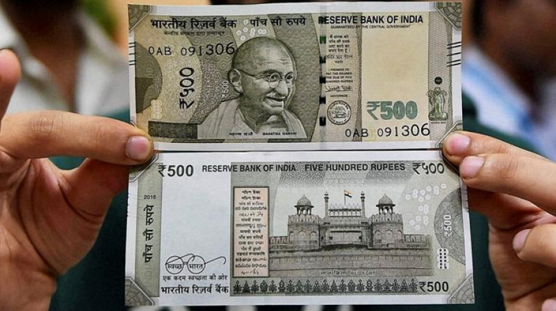 New Rs 500 notes were issued after old Rs 500 and Rs 1,000 notes were scrapped. (Photo: Representational/PTI)