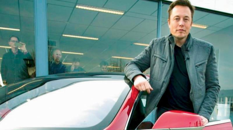 Tesla CEO Elon Musk. (AFP Photo)