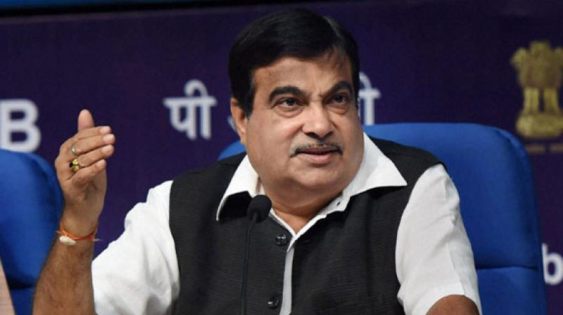 Union minister Nitin Gadkari. (PTI Photo)