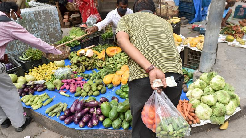 World food price index rises in June, first increase in 2020. (AFP Photo)