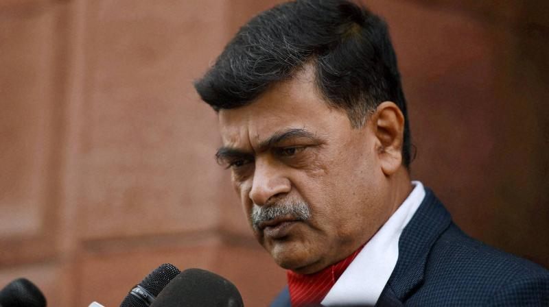 Power Minister R K Singh. (PTI Photo)