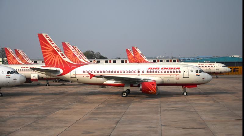 Flights being used for Vande Bharat Mission to bring back stranded Indians. AFP photo