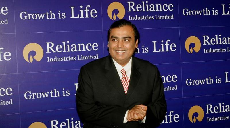 Billionaire Mukesh Ambani's Reliance Industries Ltd (RIL) plans to increase its network of aviation fuel stations by 50 per cent. (PTI Photo)